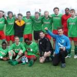 Juniorlaget åpnet sesongen med seier