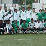 Fotballaktivitet for de unge beboerne på Mysebu