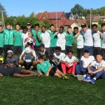 Fotballaktivitet for beboerne på Mysebu