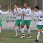 A-laget med 1-0 seier over Borgar